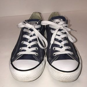 Navy blue converse all star